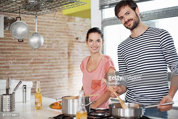 Wir machen eine großartige Küche team