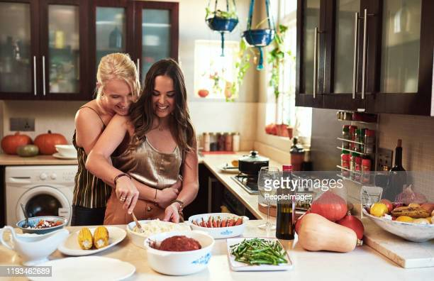 we make a great team - lesbian dating stock pictures, royalty-free photos & images