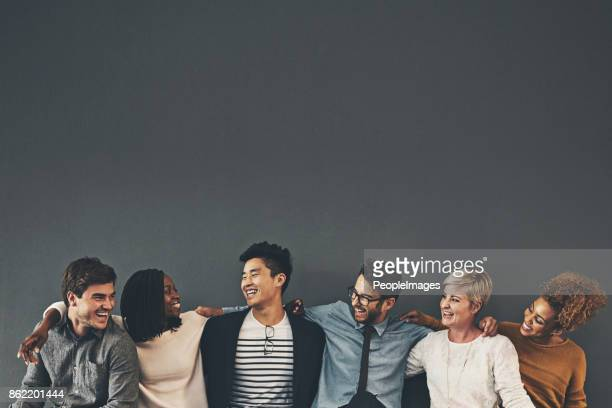 we make a great team - diversity stock pictures, royalty-free photos & images