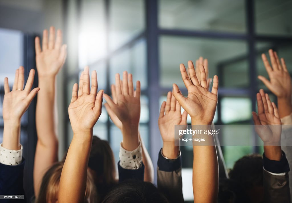 We stand together : Stock Photo