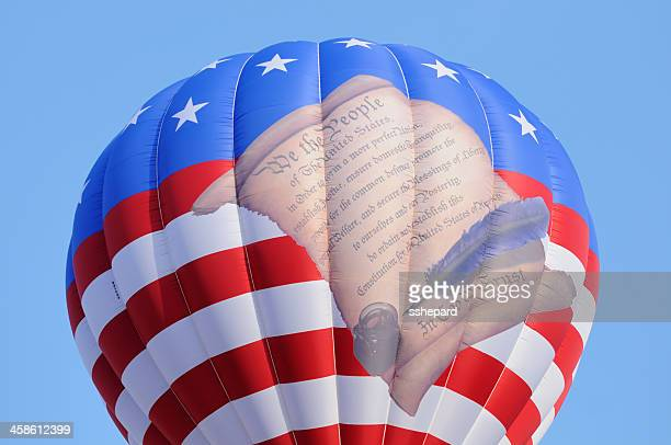 We the people hot air balloon