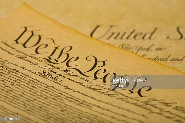 we the people - us constitution stock pictures, royalty-free photos & images