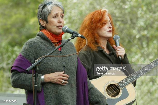 We The Planet Concert in San Francisco with Joan Baez and Bonnie Raitt