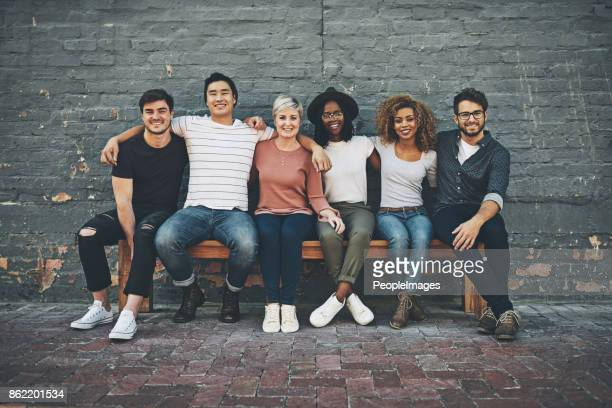 we there for each other - medium group of people stock pictures, royalty-free photos & images