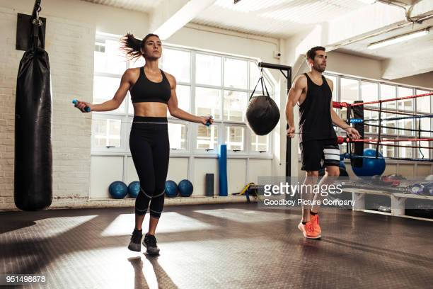 we train insane together - skipping along stock pictures, royalty-free photos & images