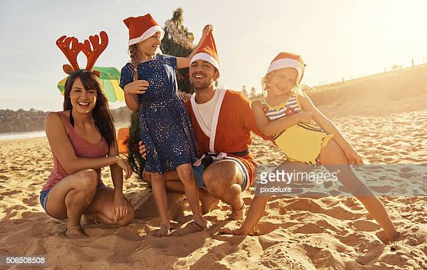 We wish you a beachy christmas