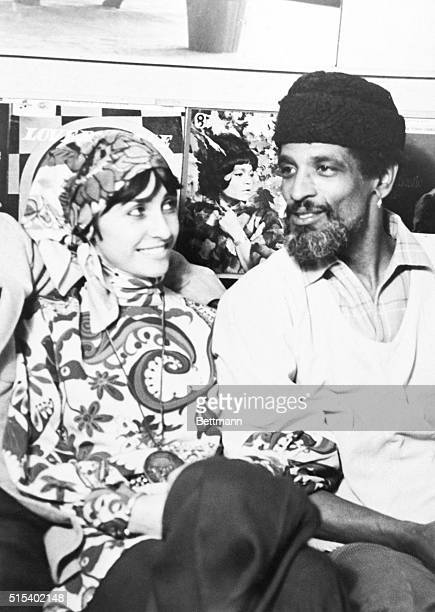 Wealthy British socialite Gale Benson with Black Power follower Hakim Jamal at a London party Gale Benson's murdered body was found buried in the...