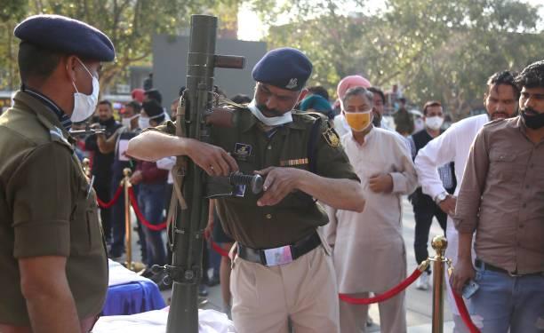 IND: 82nd CRPF Anniversary