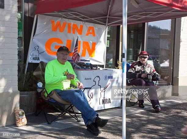 weapon lottery Win a Gun by the National Rifle Association of America in Astoria Oregon USA