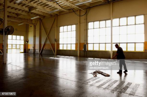 wearhouse cleaning - commercial cleaning stock photos and pictures