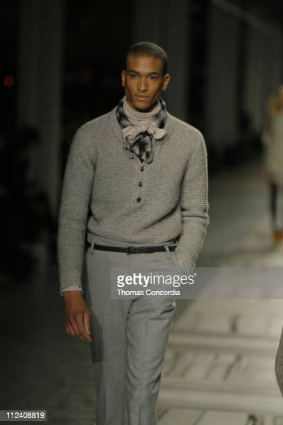 Wearing 3.1 Phillip Lim Fall 2007 during Mercedes-Benz Fashion Week Fall 2007 - 3.1 Phillip Lim - Runway at Waterfront Building in New York City, New...