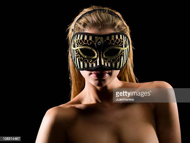 Wearing a Mask at swingers party