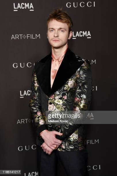 FINNEAS wearing Gucci attends the 2019 LACMA Art Film Gala Presented By Gucci at LACMA on November 02 2019 in Los Angeles California