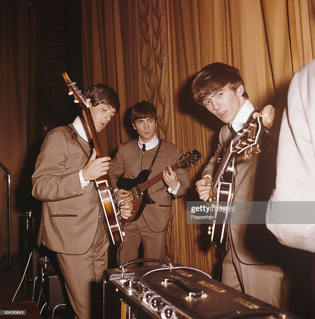 Wearing Their Stage Suits Paul McCartney John Lennon 1940 1980 And