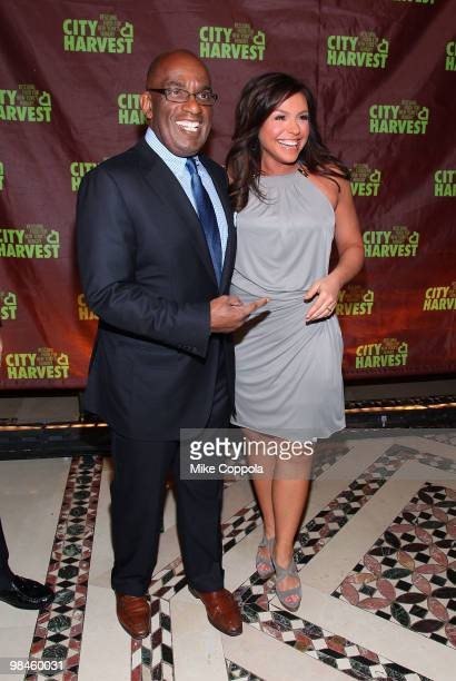 Weather anchor Al Roker and television personality/celebrity chef Rachael Ray attend City Harvest's 16th Annual An Evening Of Practical Magic at...