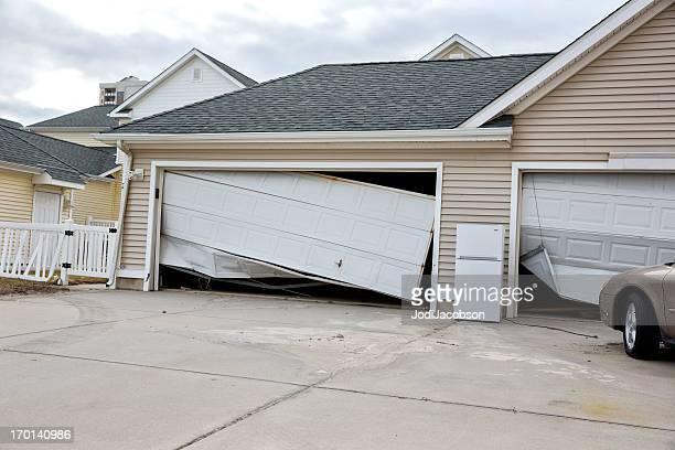 天候:ハリケーン「サンディ」による損傷のニュージャージー