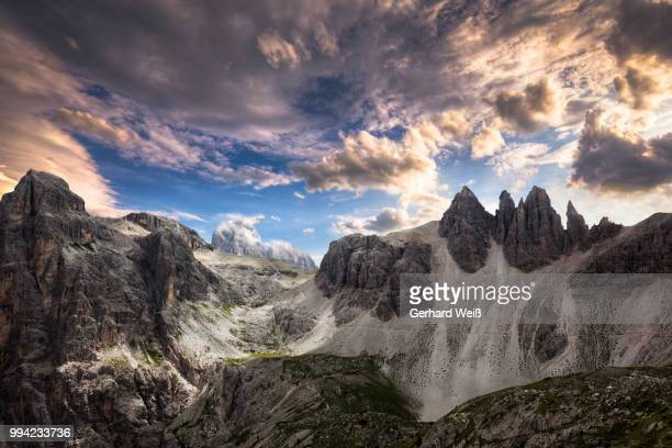 Weather mood in the Dolomites
