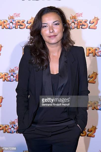 Weather presenter Anais Baydemir attends 'Les Profs 2' Paris Premiere at Le Grand Rex on June 9 2015 in Paris France