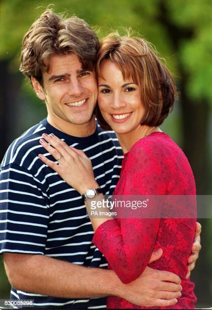 GMTV weather presenter Andrea McLean announces her engagement to BBC researcher Nick Green in London today Nick proposed half way up a mountain in...