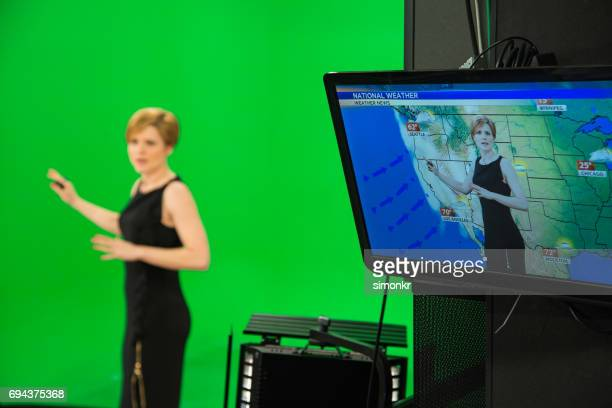 Weather presenter