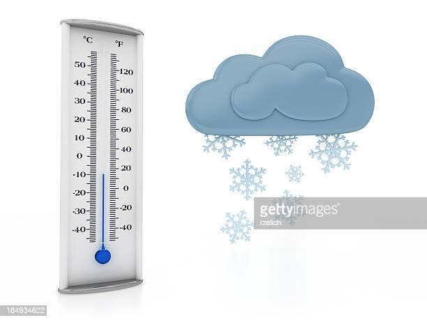 天候、雪 - celsius ストックフォトと画像