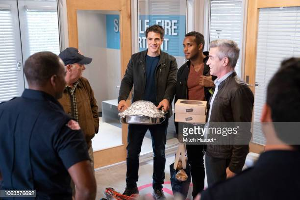 STATION 19 'Weather the Storm' As the team gathers for a Friendsgiving celebration at Dean's a violent windstorm touches down in Seattle As the storm...