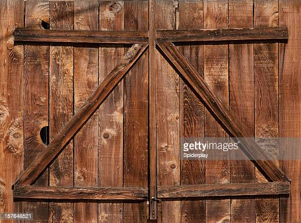 Weathered Barn Door
