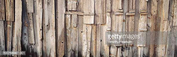 weathered barn wall, full frame - timothy hearsum stockfoto's en -beelden