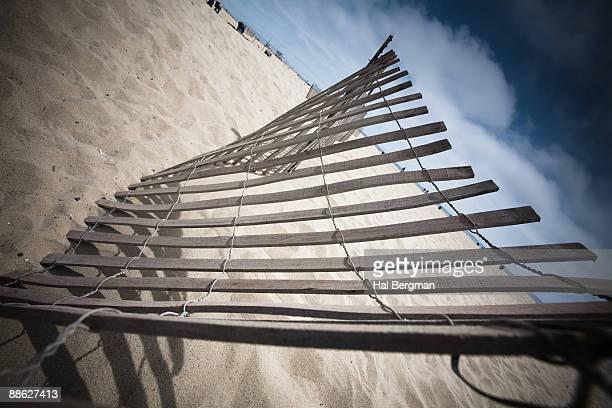 Weathered Beach Fence