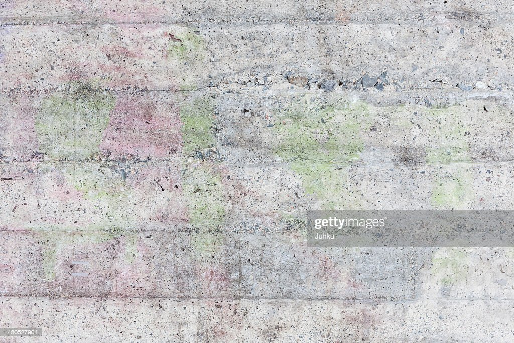 Weathered concrete wall texture : Stock Photo