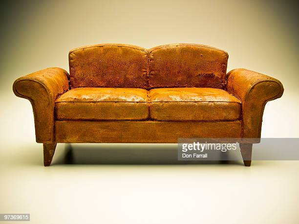 weathered couch