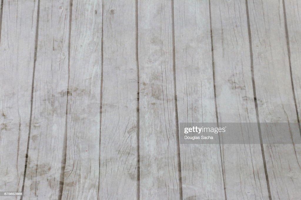 Weathered Hardwood Floor Paneling Stock Photo Getty Images