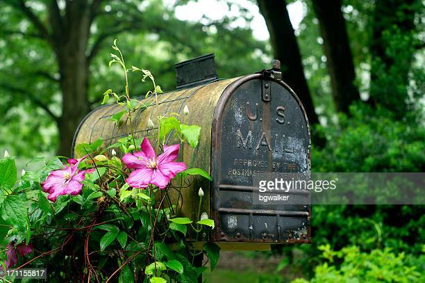 Verwitterte Briefkasten
