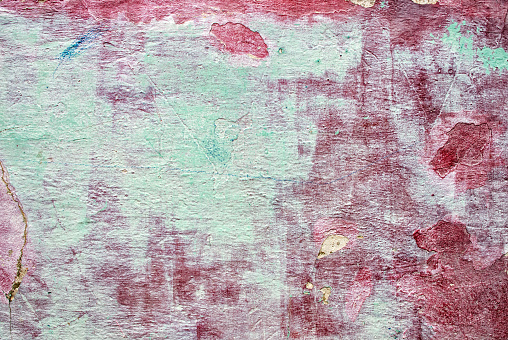 Weathered Painted Wall Texture - gettyimageskorea