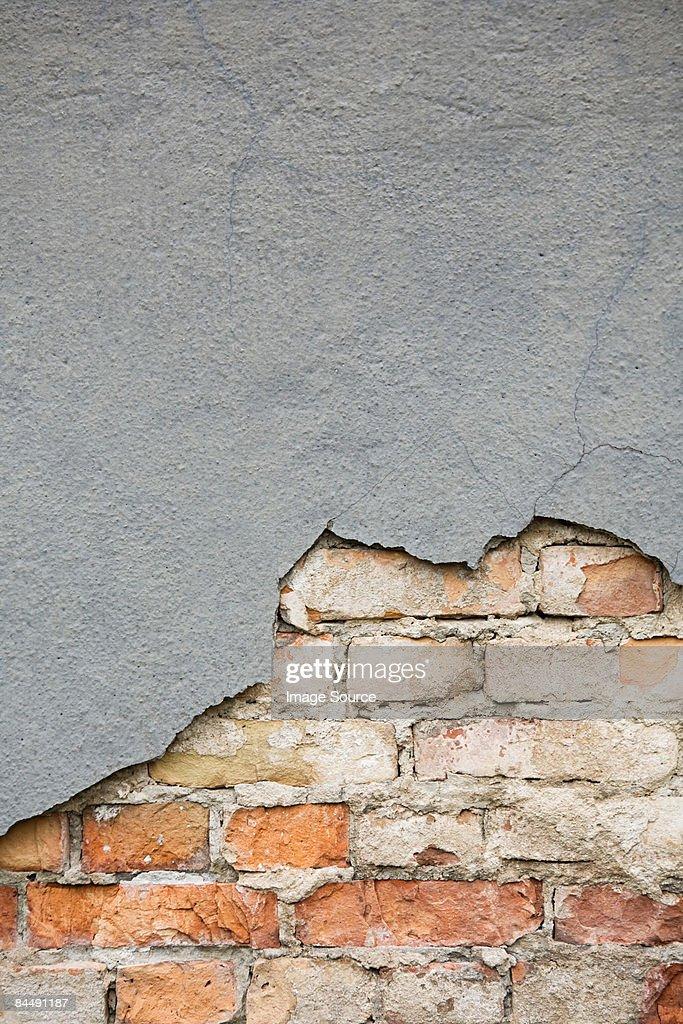 Weathered wall : Stock Photo