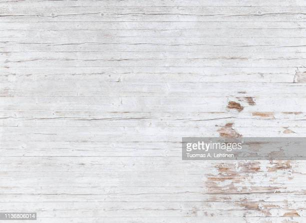 weathered white wood panelling background - white wood stock pictures, royalty-free photos & images