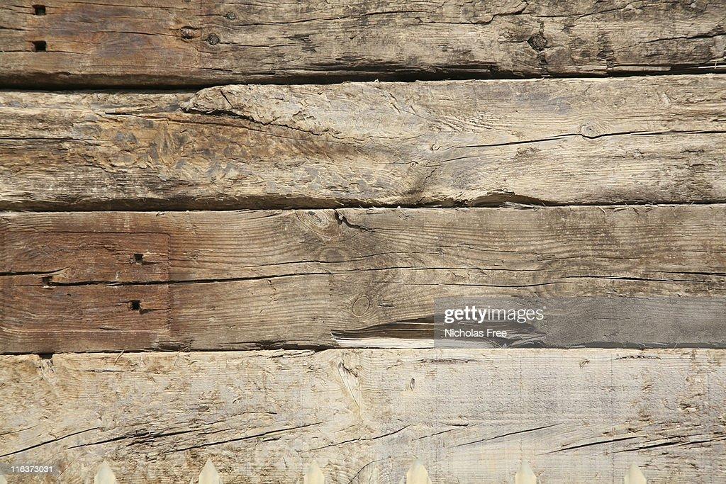 風化した木材 : ストックフォト