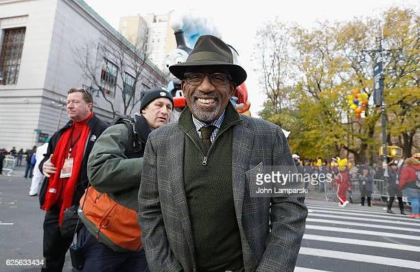 NBC weatherman Al Roker attends the 90th Annual Macy's Thanksgiving Day Parade on November 24 2016 in New York City
