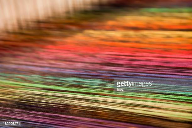 Weave with many colorful threads (XXXL)