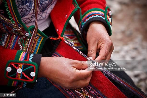 Weaving in Chinchero