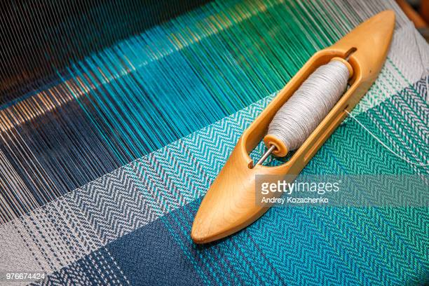 weaving loom - loom stock pictures, royalty-free photos & images