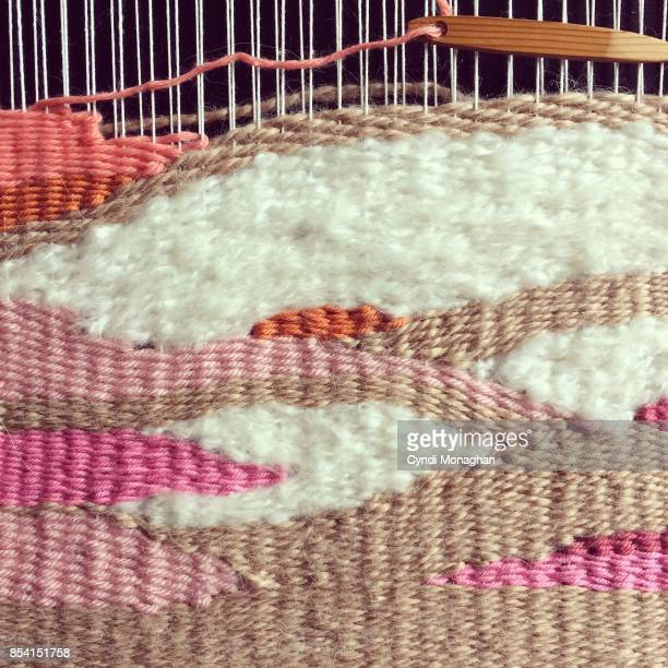 weaving - loom stock pictures, royalty-free photos & images