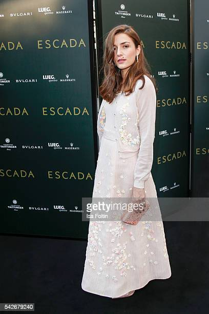 Web Influencer Socialite Eleonora Carisi attends the ESCADA Flagship Store Opening on June 23 2016 in Duesseldorf Germany