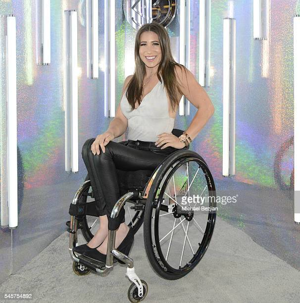 Web personality Chelsie Hill poses for portrait at the 4th Annual Beautycon Festival Los Angeles at Los Angeles Convention Center on July 9 2016 in...
