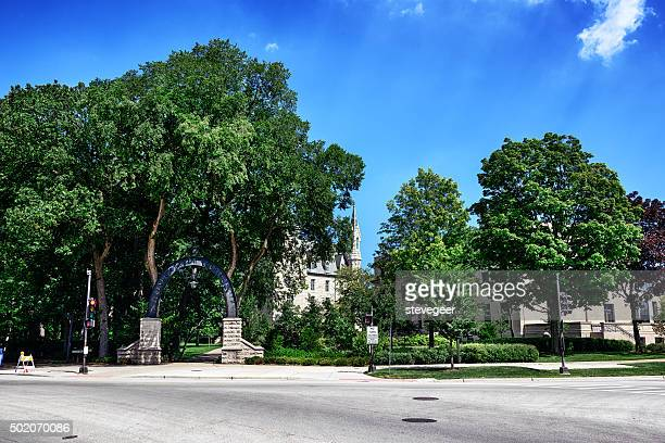 Weber Arch, Northwestern University, Evanston, Illinois