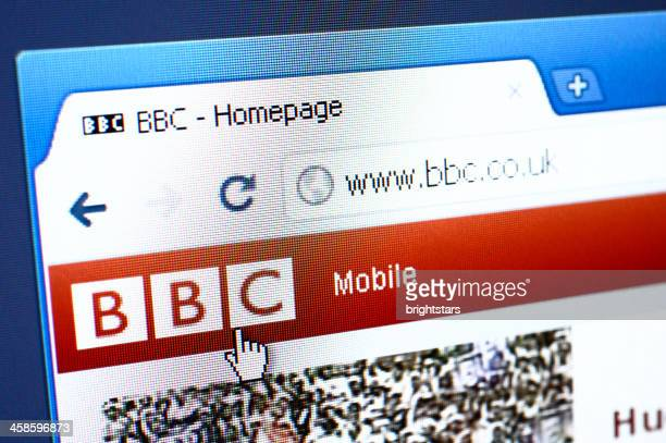 BBC webpage on the browser