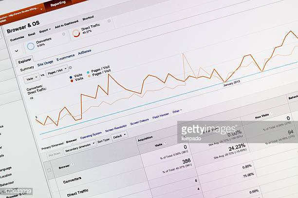 Website Analytics statistics