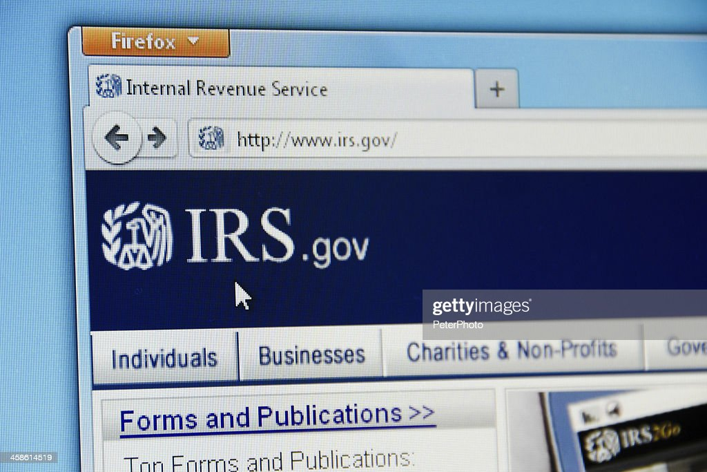Irs Website Stock Photo Getty Images