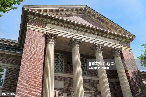 Webster Hall Rauner Library Dartmouth College Hanover New Hampshire