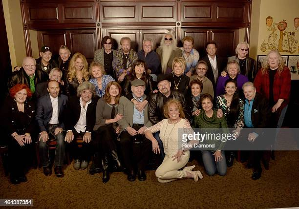 Webster Public Relations Unofficial KickOff CRS Event Legendary Lunch Front Lulu Roman Lee Greenwood Dave Rowland Sylvia Roy Clark Moe Bandy Jan...